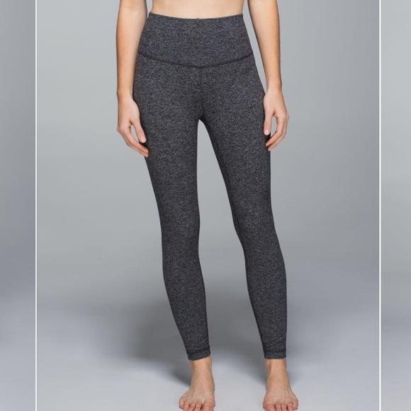 8832a792c2 lululemon athletica Pants   Lululemon Heather Grey Leggings   Poshmark